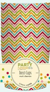 Jillibean Soup Party Playground Multi Chevron Treat Cups - 1
