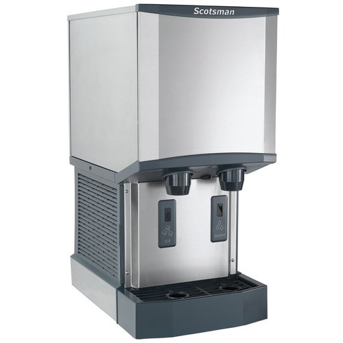 Scotsman HID312A-1 Meridian Countertop Air Cooled Ice Machine and Water Dispenser - 12 lb. Bin Stora