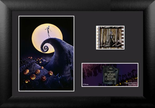 Picture of Nightmare Before Christmas Film Cell