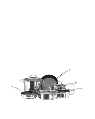 Farberware Millennium Stainless 10-Piece Nonstick Stainless Cookware Set
