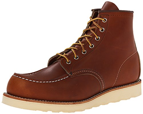"Red Wing Heritage Moc 6"" Boot, Oro-Legacy, 8.5 D(M) US"
