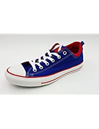 Converse Unisex Chuck Taylor® All Star® Dual Collar Ox Radio Blue/Red Men's 9, Women's 11 Medium