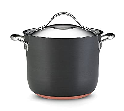 Anolon Nouvelle Copper 8-qt. Covered Stockpot