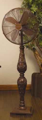 Deco Breeze Standing Floor Fan, Casandra, 55-Inch Tall with 16-Inch Fan Head