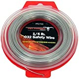 Pit Posse PP2766 Stainless Steel Twist Safety Lock Grip Wire AirCRaft Aviation .032 100Ft