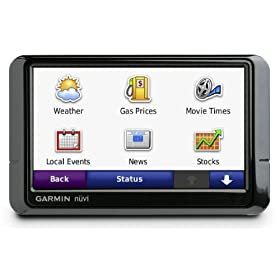 Garmin n�vi 285W/285WT 4.3-Inch Widescreen Bluetooth Portable GPS Navigator with Traffic. Comes with free 2nd day shipping!
