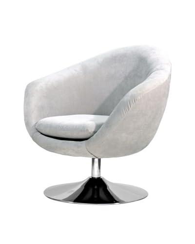 Overman International Disc Base Comet Chair, Light Tan