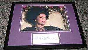 Antoinette Bower Signed Framed 11x14 Photo Display Star Trek - Autographed NHL Photos