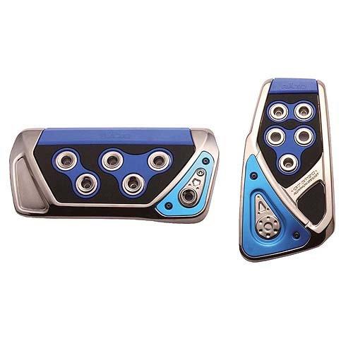 Razo RP103BLA GT Spec Blue Large Automatic Transmission Pedal Set - 2 Piece (Automatic Transmission Pedals compare prices)