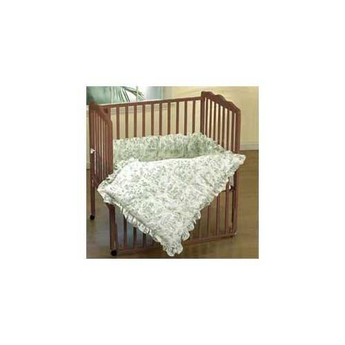 Imagen de Baby Doll Bedding Set Toile Cuna, Verde