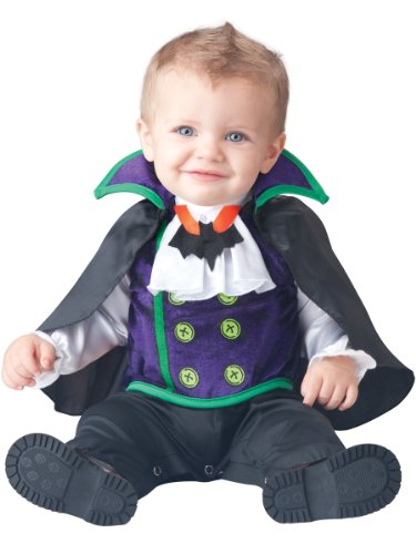 Baby Count Cutie Dracula Costume Size 18M-2T front-959511