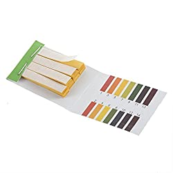 DivineXt 80 Strips Full pH 1-14 Test Indicator Litmus Paper Water Soil Testing Kit
