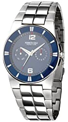 Kenneth Cole Men's KC3695 Reaction Silver-Tone Bracelet Watch