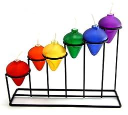 Rainbow stair Oil Lamp Holder