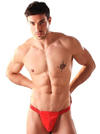 PVC Male Pouch - Red