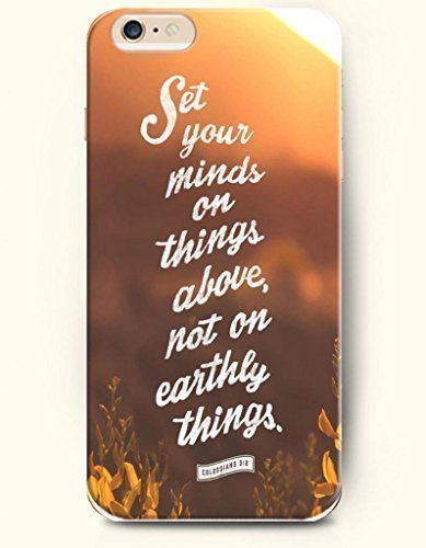Set your minds on things above, not on earthly things Phone Case [Customizable by Buyers] [Create Your Own Phone Case] Slim Fitted Hard Protector Cover for Samsung Galaxy S4