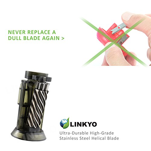 LINKYO-Heavy-Duty-Electric-Pencil-Sharpener-with-Automatic-Smart-Sharpening-Sensor-for-Classroom-Office-and-High-Volume-Use