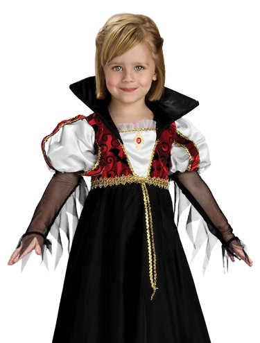 Rubies Toddler Vampire Girl Dracula Kids Halloween Costume