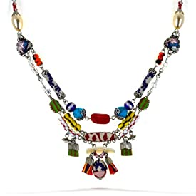 Ayala Bar Fabrics Necklace - Spring 2012 Hip Collection - #9414 ANK ONK