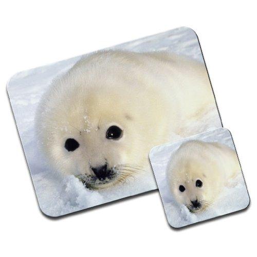 harp-seal-premium-mousematt-sottobicchieri
