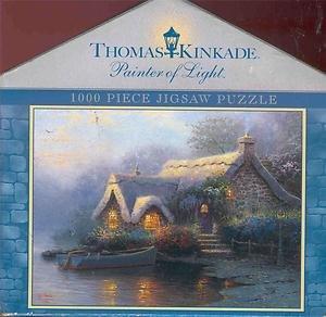 1000 Piece Puzzle: Lochaven Cottage - 1