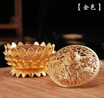 Quemadordeinciensorecipientesoporte Real Corona florido