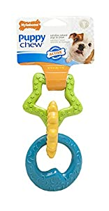 Nylabone Just For Puppies Ring Bone Puppy Dog Teething Chew Toy