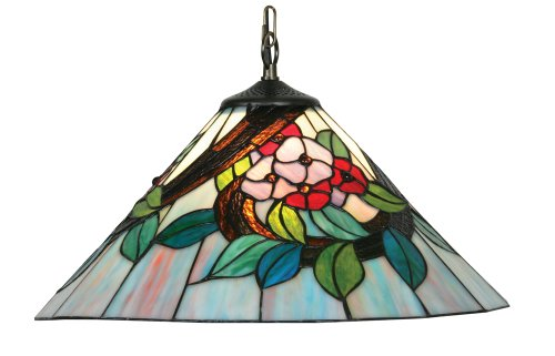 Oaks Lighting Belle Tiffany Pendant