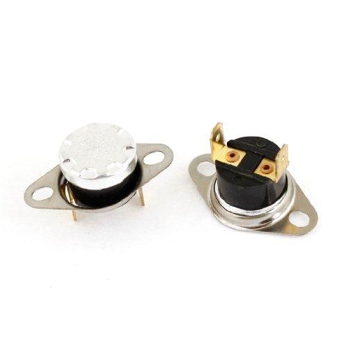 Ac 250V 10A 160 Celsius Nc Temperature Controlled Thermostat Ksd301 2Pcs
