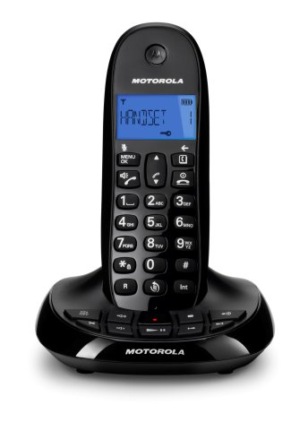 Motorola C1211A Digital Cordless Phone with Answering Machine images
