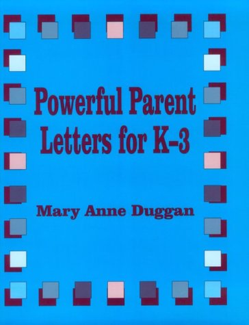 Powerful Parent Letters for K-3