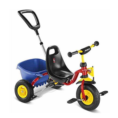 Puky 2373 CAT 1 L - Tricycle rouge avec Benne