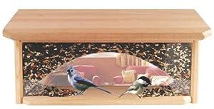 BND 298291 HEATH MFG CO P - Cedar Windowsill Bird Feeder WF120