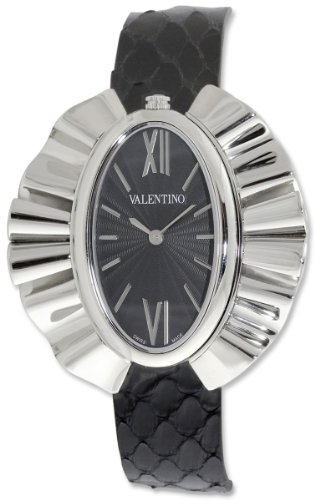 Valentino Princesse Stainless Steel Womens Fashion Black Strap Watch V45LBQ9909-SV09