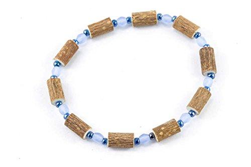 Healing Hazel Hazelwood Women/Teens Wrist Bracelet, Frosted Blue/Blue