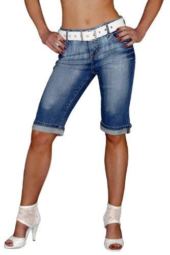 beste damen bermuda jeans 2015 damen bermuda jeans. Black Bedroom Furniture Sets. Home Design Ideas