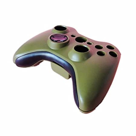 eFashion Full Housing Shell Case for XBOX 360 Wireless Controller Army Green
