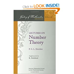 Amazon.com: Lectures on Number Theory (History of Mathematics ...