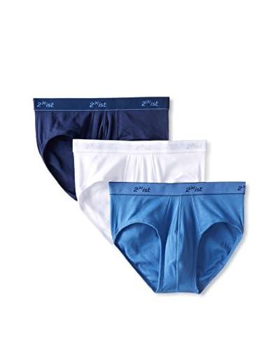 2(x)ist Men's Essentials Contour Pouch Brief- 3 Pack