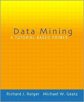 Data Mining: A Tutorial Based Primer