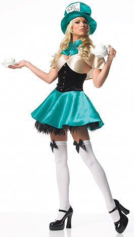 Tea Party Hostess Costume Adult - Medium