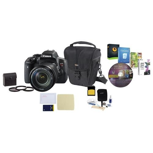 Canon EOS Rebel T6i DSLR Camera with EF-S 18-135mm f/3.5-5.6 IS STM Lens,
