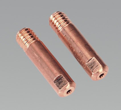 Sealey MIG928 Contact Tip Aluminium TB15, 1 mm, Set of 2