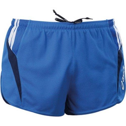 ASICS Shorts uomo atletica running slip interno MILES blu royal blu navy T474Z6