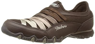 Skechers Bikers Funhouse Womens Sneakers Chocolate/Taupe 5