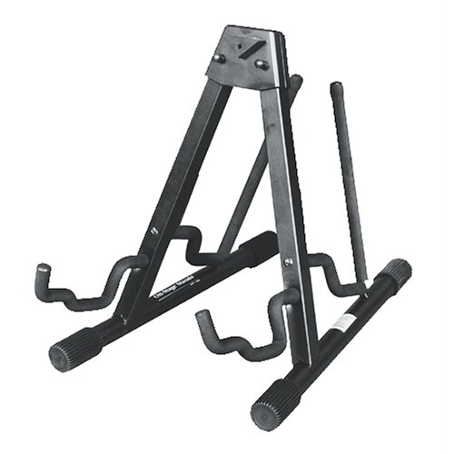 rhoda nickel onstage gs7462db double electric and acoustic guitar stand buysalecheap. Black Bedroom Furniture Sets. Home Design Ideas