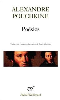 Poésies Alexandre Pouchkine Babelio