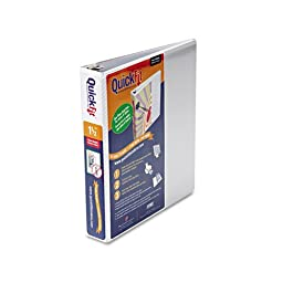 Stride - Quick Fit D-Ring View Binder, 1-1/2\