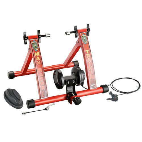 RAD Cycle Products Max Racer 7 Levels of Resistance Portable Bicycle Trainer Work Out Machine