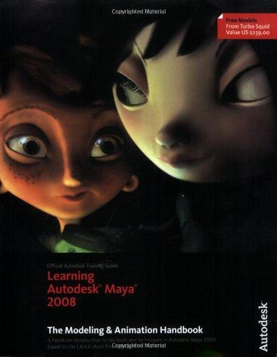 Learning Autodesk Maya 2008, (Official Autodesk Training...